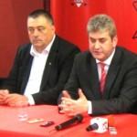 Mihail Genoiu (stânga)