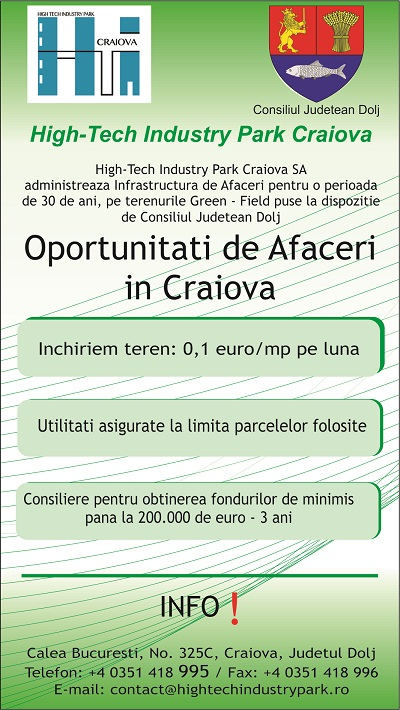 High Tech Industry Park Craoiva